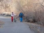 Alana and Grammy (Donna) walking