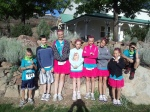 8 of the kids pre-race