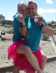 Olivia and me with our 3rd place medals!!