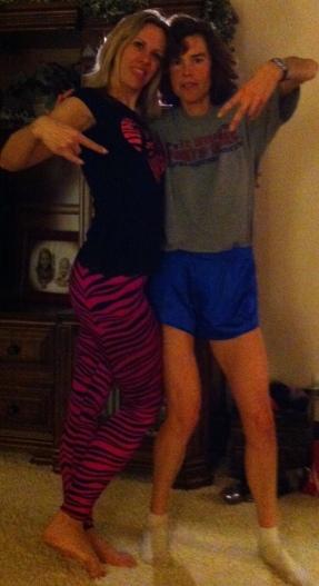 Sarah and me!!!
