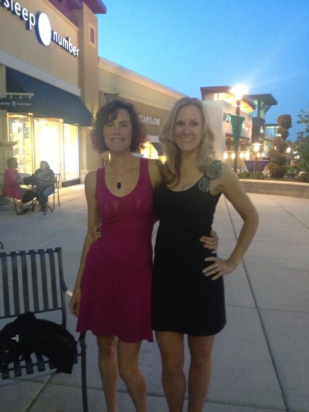Sarah and Me post dress change