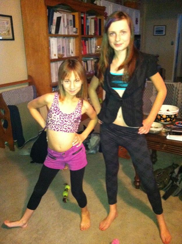 Kezia and Ashlea
