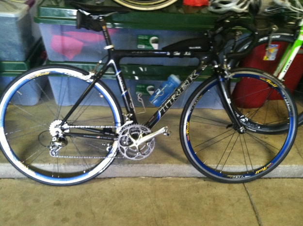 The bike.....