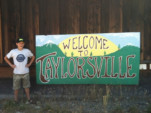 Taylor would like to welcome you to his town....