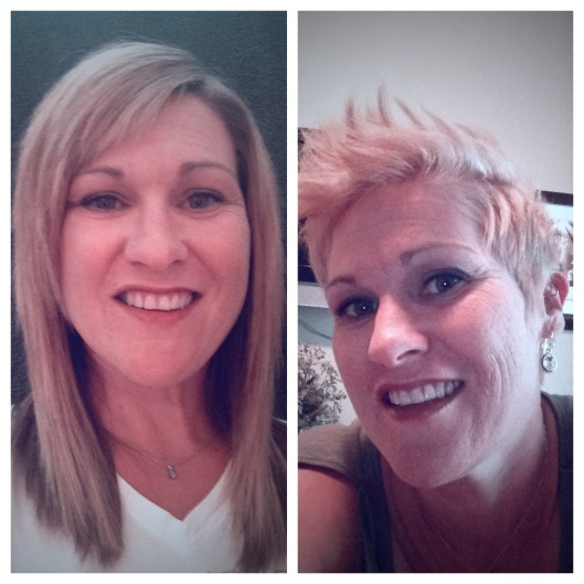 Melissa's before and after!!!