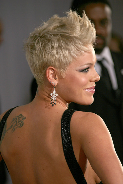Pink.  My favorite bad girl.  I want to BE this woman some days.