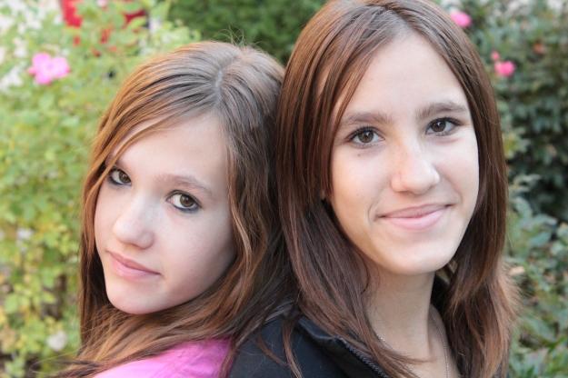 Gabrielle and Alana