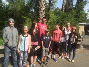 11 kids on vacation April 2015