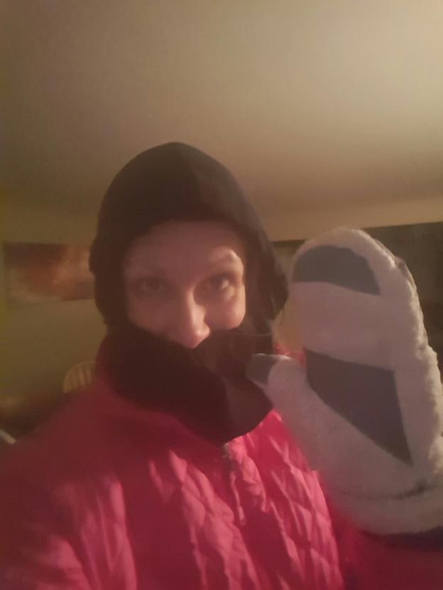 Winter running.....